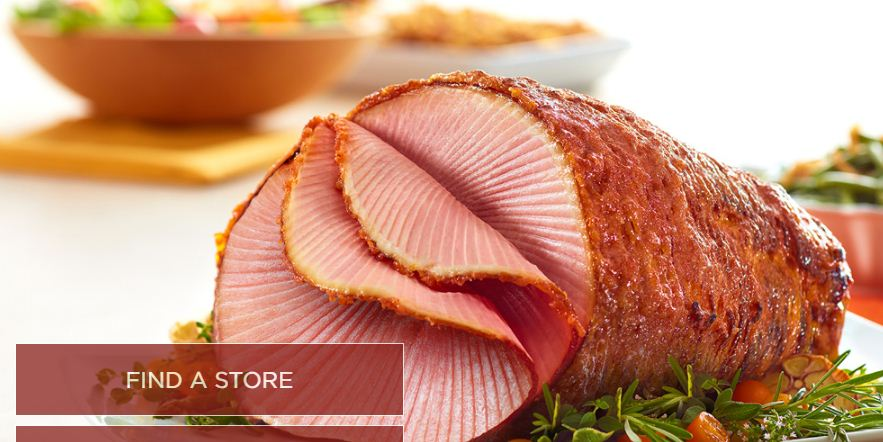 picture relating to Honey Baked Ham Printable Coupons known as 50% Off Honey Baked Ham Discount coupons Oct-2019